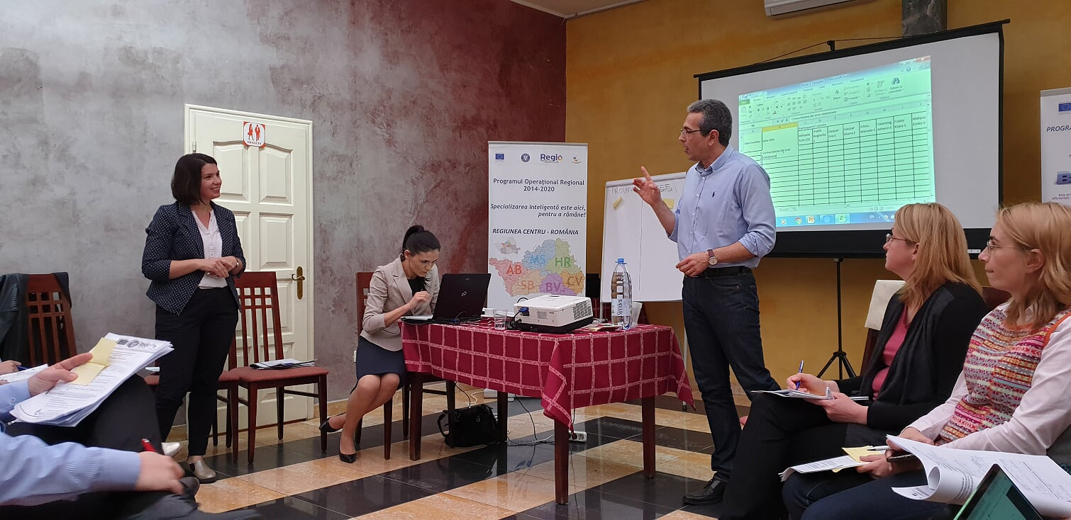 Presentation of new products at Entrepreneurial discovery meeting in the field of Sustainable Economy